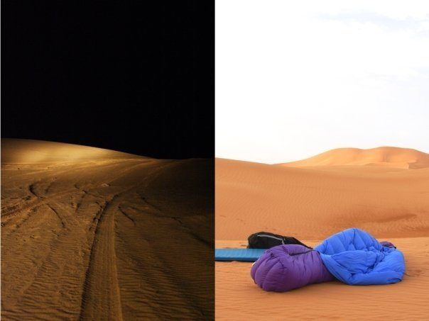 Shawna Cox in Morocco