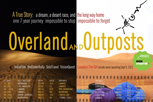 Overland and Outposts on Kickstarter Canada